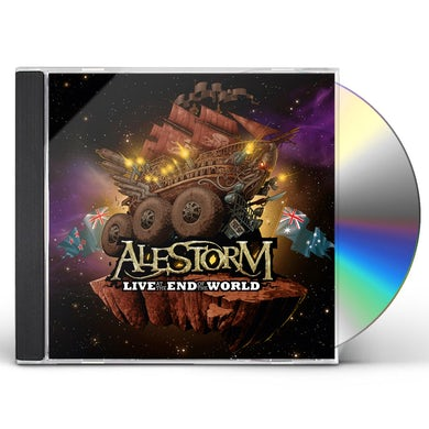 Alestorm LIVE AT THE END OF THE WORLD CD
