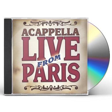 Acappella LIVE FROM PARIS CD