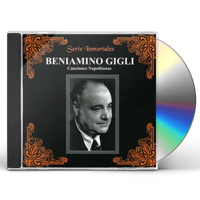 Beniamino Gigli O SOLE MIO SANTA LUCIA Y OTRAS MAS CD