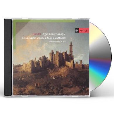 Bob Van Asperen VERITAS X2: HANDEL - ORGAN CONCERTOS OP 7 CD