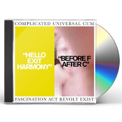 Complicated Universal Cum HELLO EXIT HARMONY/BEFORE F AFTER C CD