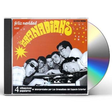 Los Granadians Del Espacio Exterior FELIZ NAVIDAD CD
