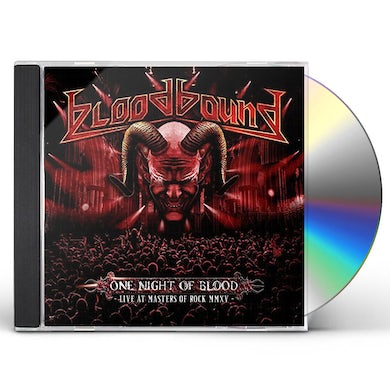 Bloodbound ONE NIGHT OF BLOOD CD