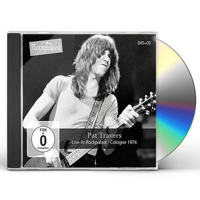 Pat Travers LIVE AT ROCKPALAST: COLOGNE 1976 CD