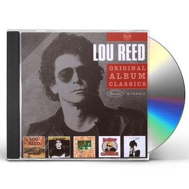 Lou Reed ORIGINAL ALBUM CLASSICS CD