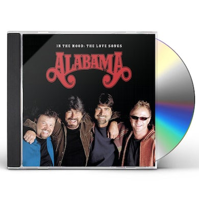 Alabama IN THE MOOD: THE LOVE SONGS CD