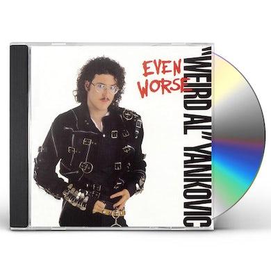 Weird Al Yankovic EVEN WORSE CD