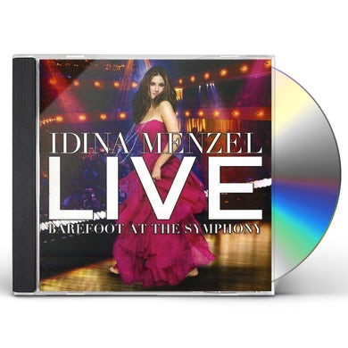 Idina Menzel LIVE BAREFOOT AT THE SYMPHONY CD