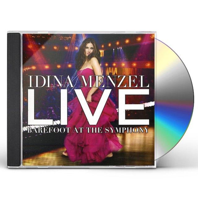 Idina Menzel LIVE BAREFOOT AT THE SYMPHONY CD