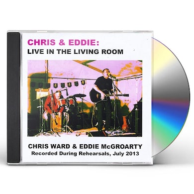 Chris Ward LIVE IN THE LIVING ROOM CD