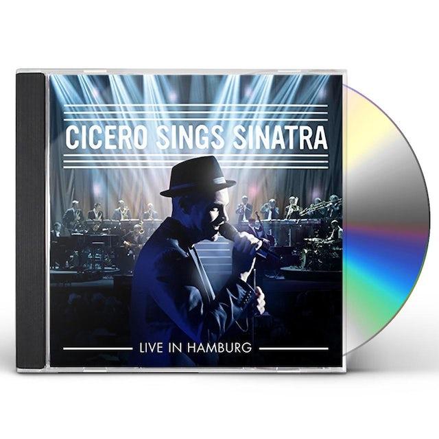 Roger Cicero CICERO SINGS SINATRA - LIVE IN HAMBURG CD