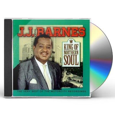 J.J. Barnes KING OF NORTHERN SOUL CD