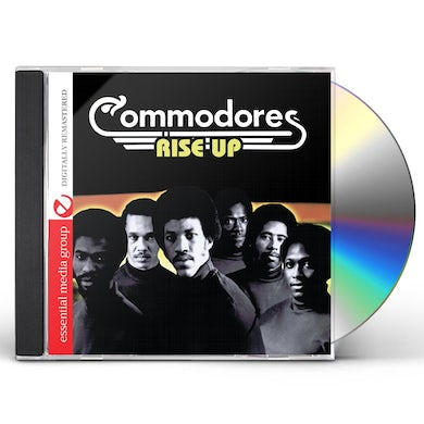 Commodores RISE UP CD