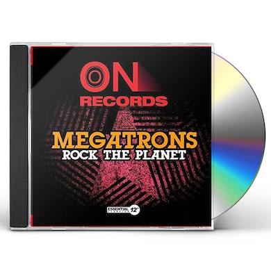 Megatrons ROCK THE PLANET CD