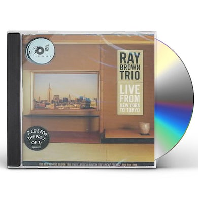 Ray Brown LIVE FROM NEW YORK TO TOKYO CD