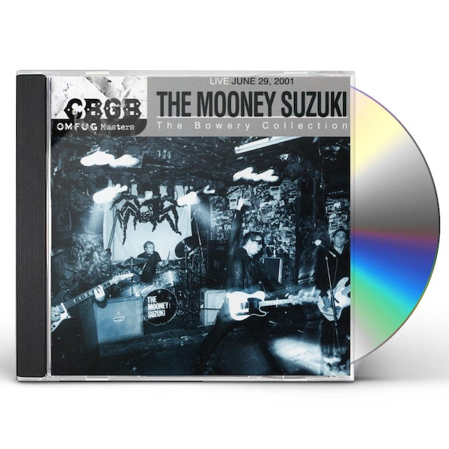 Mooney Suzuki CBGB OMFUG MASTERS: LIVE 6-29-01 BOWERY COLLECTION CD