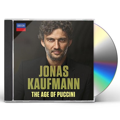 Jonas Kaufmann AGE OF PUCCINI CD