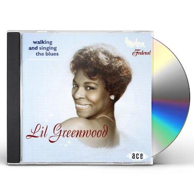Lil Greenwood WALKING & SINGING THE BLUES CD
