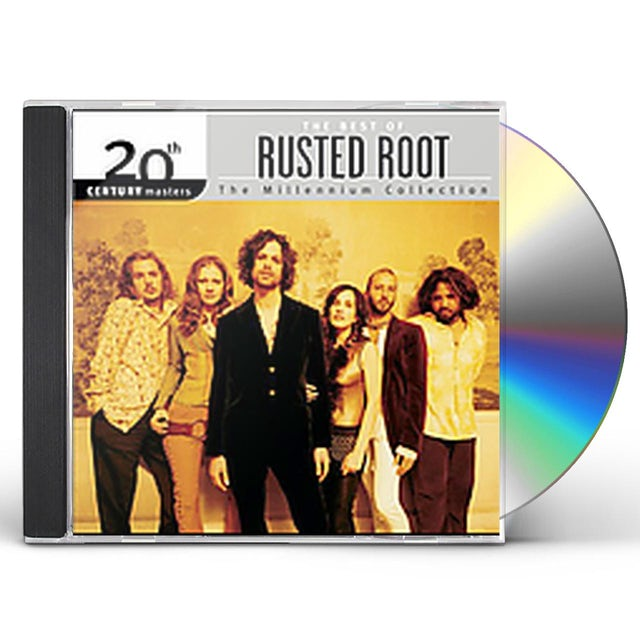 Rusted Root 20TH CENTURY MASTERS: MILLENNIUM COLLECTION CD