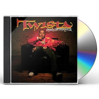 Twista ADRENALINE RUSH 2007 CD