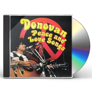 Donovan PEACE & LOVE SONGS CD