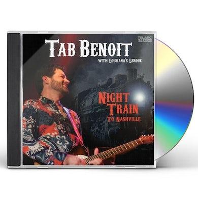 Tab Benoit NIGHT TRAIN TO NASHVILLE CD