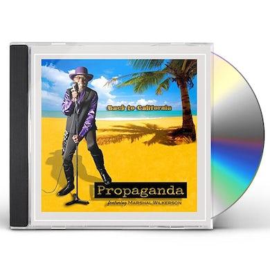 Propaganda BACK TO CALIFORNIA CD