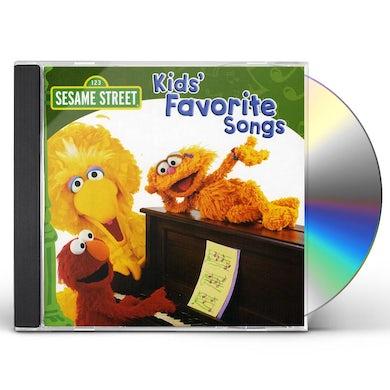 Sesame Street KIDS FAVORITE SONGS CD