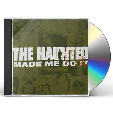 Haunted MADE ME DO IT CD
