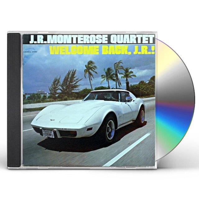 J.R. Monterose RUSH LIFE CD
