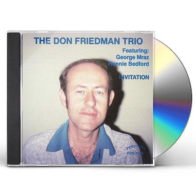 Don Friedman INVITATION CD