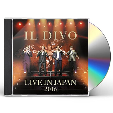 Il Divo LIVE IN JAPAN 2016: SPECIAL EDITION CD