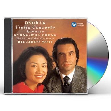 Chung Kyung-Wha DVORAK: WORKS FOR VIOLIN & ORCHESTRA CD
