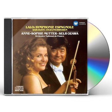 Anne-Sophie Mutter LALO: SYMPHONIE ESPAGNOLE ETC. CD