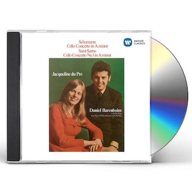 Jacqueline Du Pre SCHUMANN & SAINT-SEANS: CELLO CONCERT CD