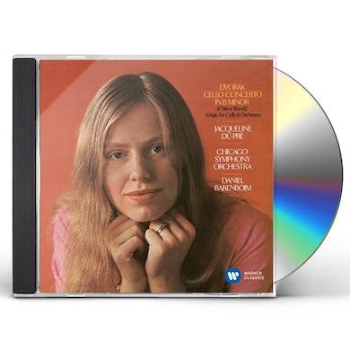 Jacqueline Du Pre DVORAK: CELLO CONCERTO IN B MINOR. E CD