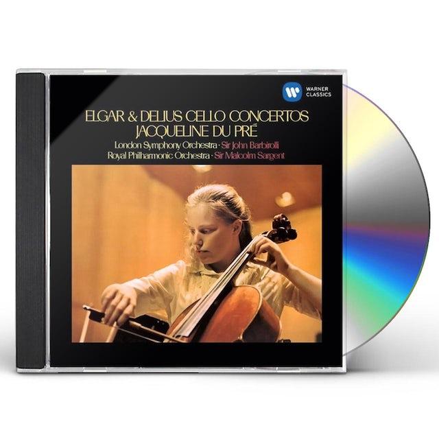 Jacqueline Du Pre ELGAR & DELIUS CELLO CONCERTOS CD