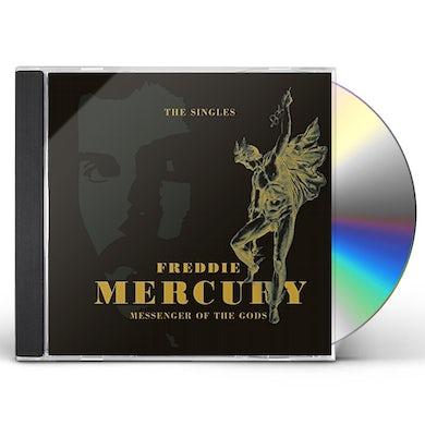 Freddie Mercury MESSENGER OF THE GODS: SINGLES CD