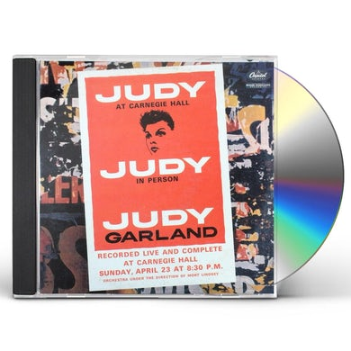 Judy Garland JUDY AT CARNEGIE HALL (LIVE) CD
