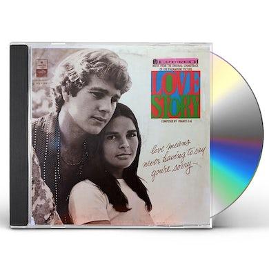 Francis Lai LOVE STORY / Original Soundtrack CD