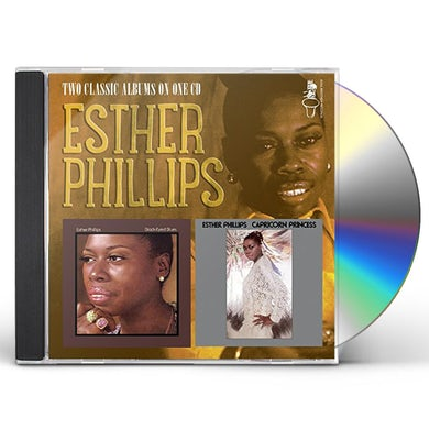 Esther Phillips BLACK EYED BLUES/CAPRICORN PRINCESS CD