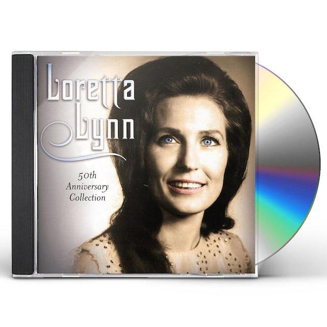 Loretta Lynn 50TH ANNIVERSARY COLLECTION CD