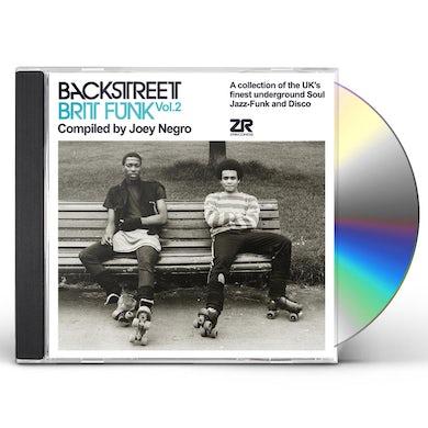 Joey Negro BACKSTREET BRIT FUNK 2 CD
