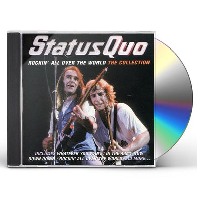 Status Quo ROCKIN ALL OVER THE WORLD: COLLECTION CD