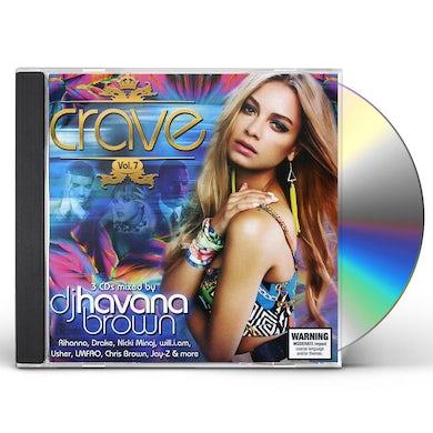 VOL. 7-CRAVE-MIXED BY DJ HAVANA BROWN CD