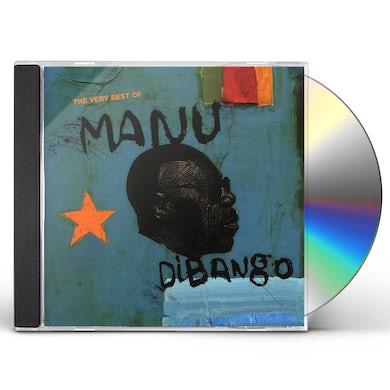Manu Dibango AFRICADELIC: BEST OF CD