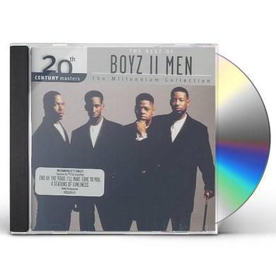 Boyz II Men 20TH CENTURY MASTERS: MILLENNIUM COLLECTION CD
