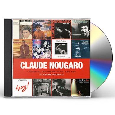 Claude Nougaro L'ESSENTIEL STUDIO 1962 - 1985 CD