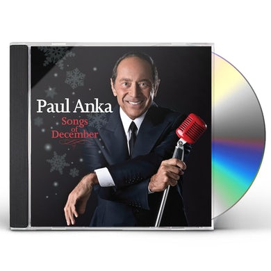 Paul Anka SONGS OF DECEMBER CD