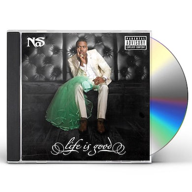 Nas LIFE IS GOOD CD